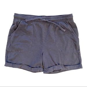 Wind river slouchy jogger shorts M grey GUC